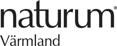 Naturum Värmlands logotyp i svartvitt