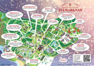Julmarknadskarta 2019